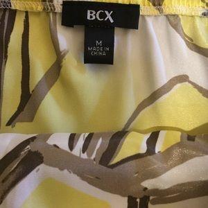 BCX Tops - BCX Geo Print Halter Top
